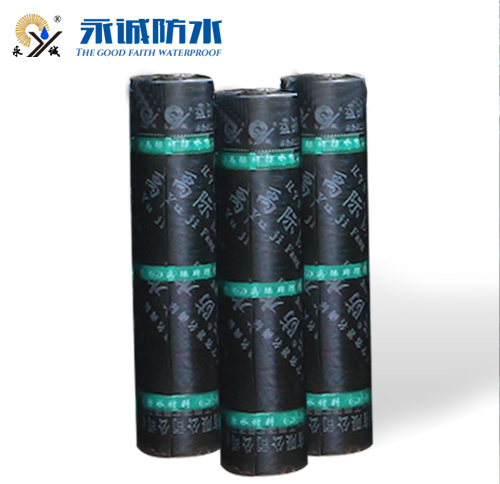 Root puncture-resistant waterproof membrane for planting roof
